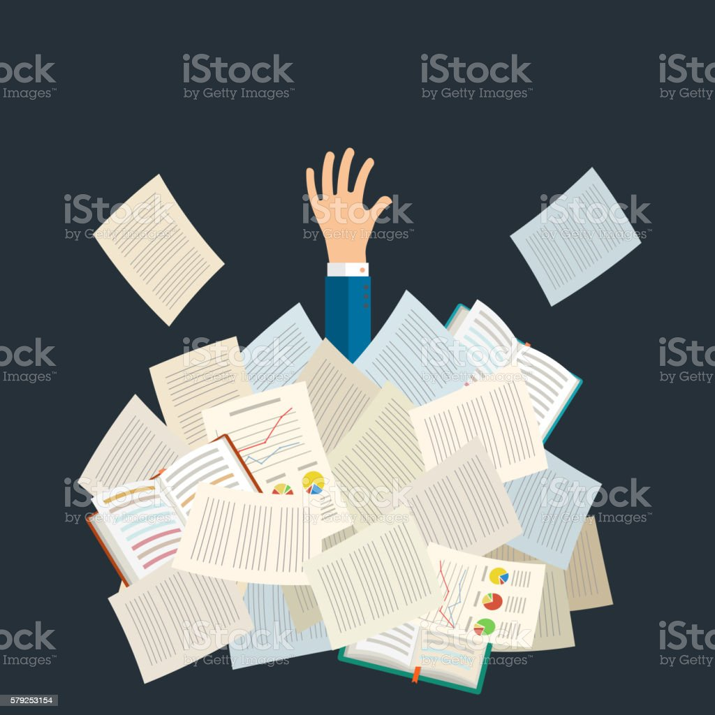 Top 60 Too Much Homework Clip Art  Vector Graphics And