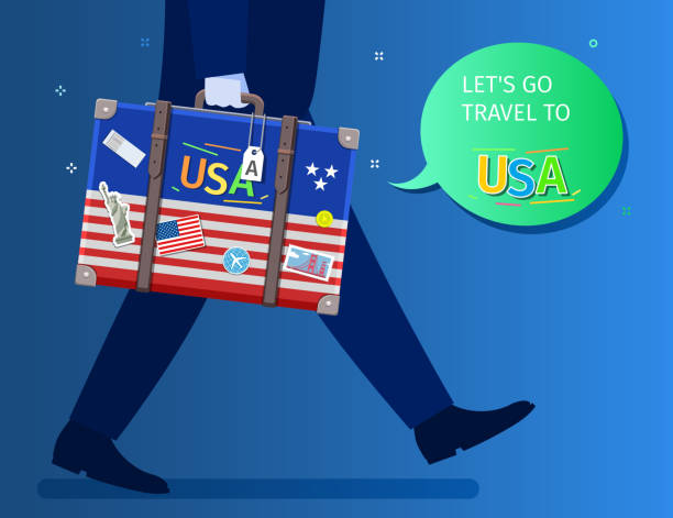 concept of travel or studying english. - white house stock illustrations