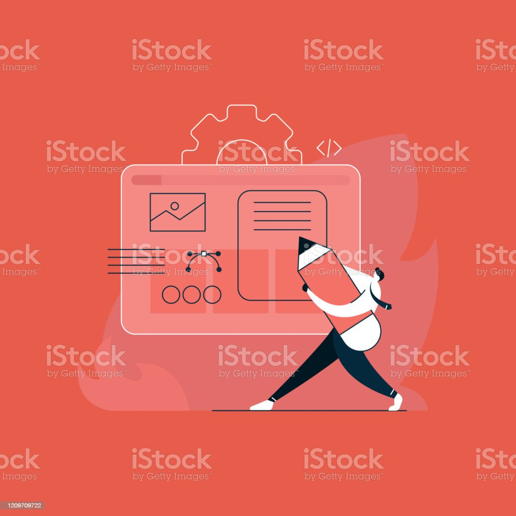 Concept Ux User Experience Development Design Usability Improve Software Develop Company Ui Interface Experiment Design Stock Illustration Download Image Now Istock