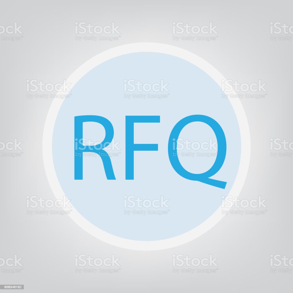 Rfq Concept Stock Illustration - Download Image Now - iStock