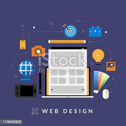 istock concept web design 1128452623