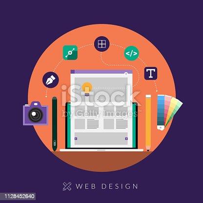 istock concept web design 1128452640
