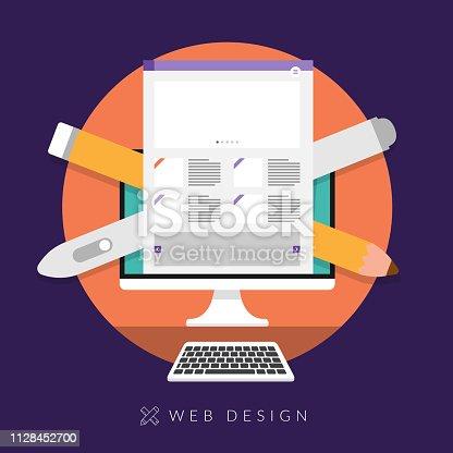 istock concept web design 1128452700