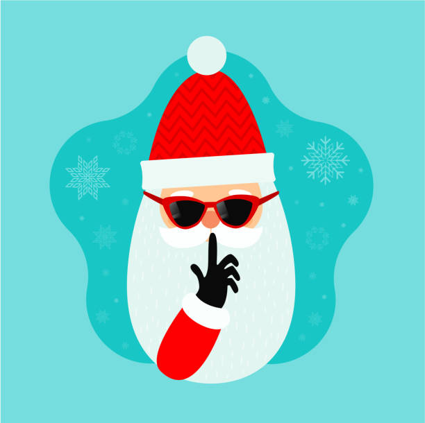 Best Secret Santa Illustrations, Royalty-Free Vector ...  Secret