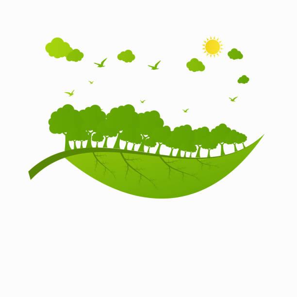 Concept World environment and sustainable development , vector illustration vector art illustration