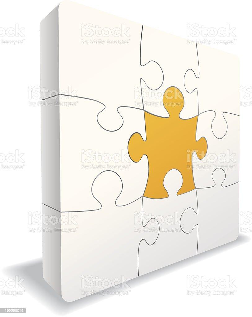 Conceptos elegido Puzzle ilustración de conceptos elegido puzzle y más banco de imágenes de asociación libre de derechos