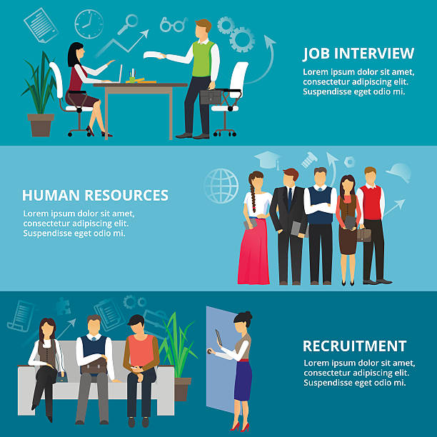 Best Job Interview Illustrations Royalty Free Vector