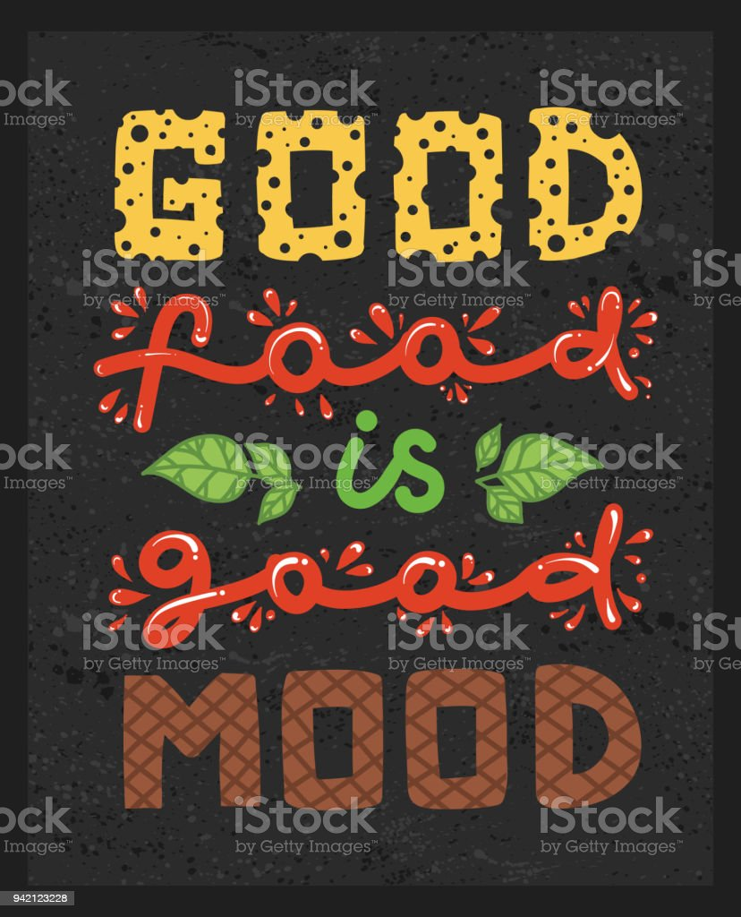 Conceptual Art Of Burger Quotes Good Food Is Good Mood ...