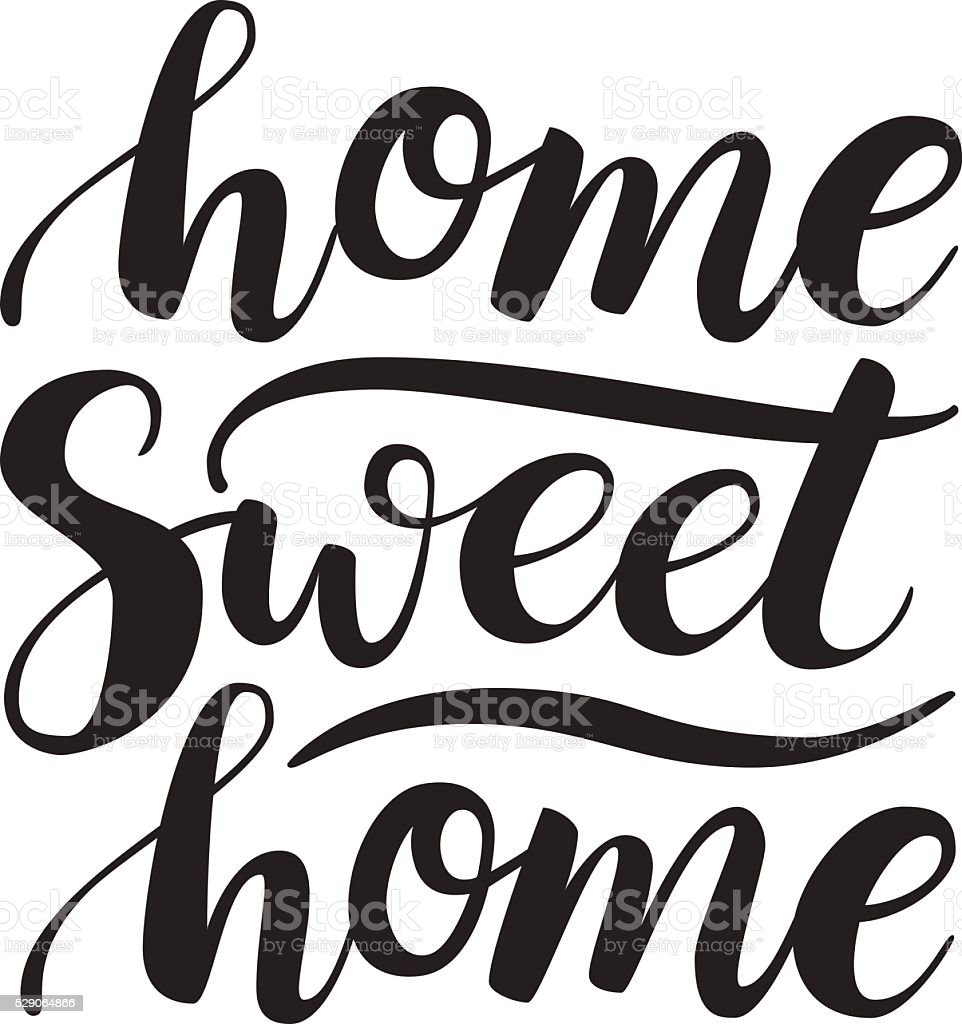 royalty free home sweet home clip art vector images illustrations rh istockphoto com welcome home banner clipart welcome home clipart images