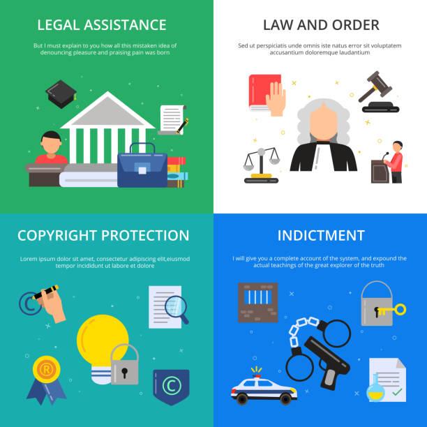 ilustrações, clipart, desenhos animados e ícones de fotos conceituais da justiça penal. ilustrações de advogado, juiz e outras pessoas em estilo simples - assistente jurídico