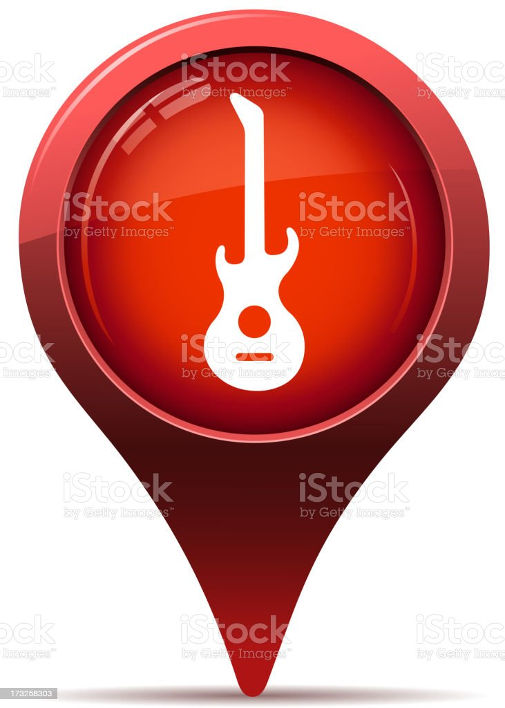 concert pointer royalty-free stock vector art