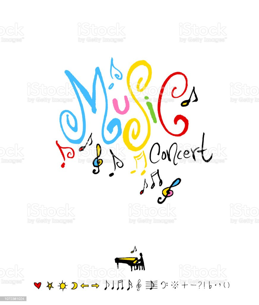 concert poster vector art illustration