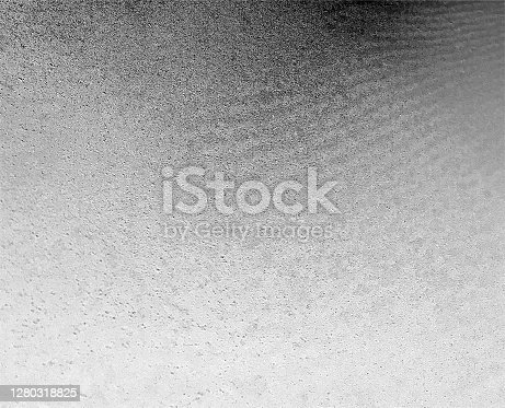 istock Concrete surface with grainy effect and delicate blurred - vector illustration in close up with perspective and gradient effect - spotted wavy dirty surface in shades of white and black - abstract raw textured paper background 1280318825