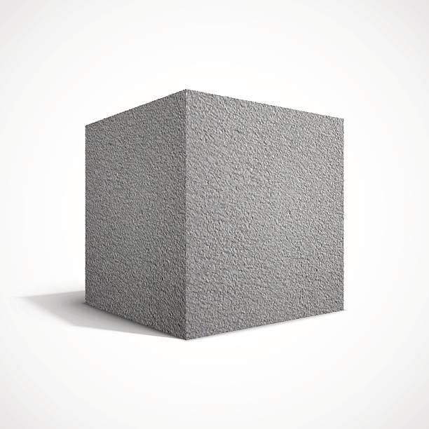 Beton-cube – Vektorgrafik