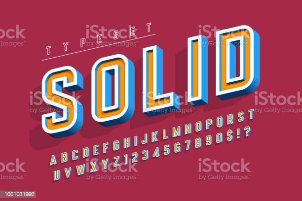 Condensed bold 3d display font alphabet letters and numbers vector id1001031992?b=1&k=6&m=1001031992&s=612x612&h=szcmd2y8it8h1t8uj5e7ifirl4rqh8fgsyp0 jmenec=