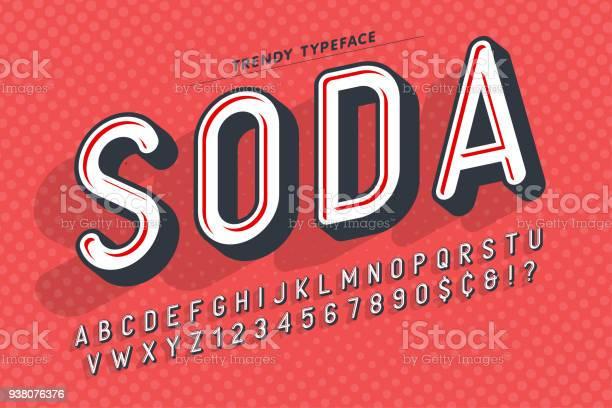 Condensed display font popart design alphabet letters and numb vector id938076376?b=1&k=6&m=938076376&s=612x612&h=zzfshs5rkdeavpkrhgjmff xrqo4sund4jzvrakfvde=