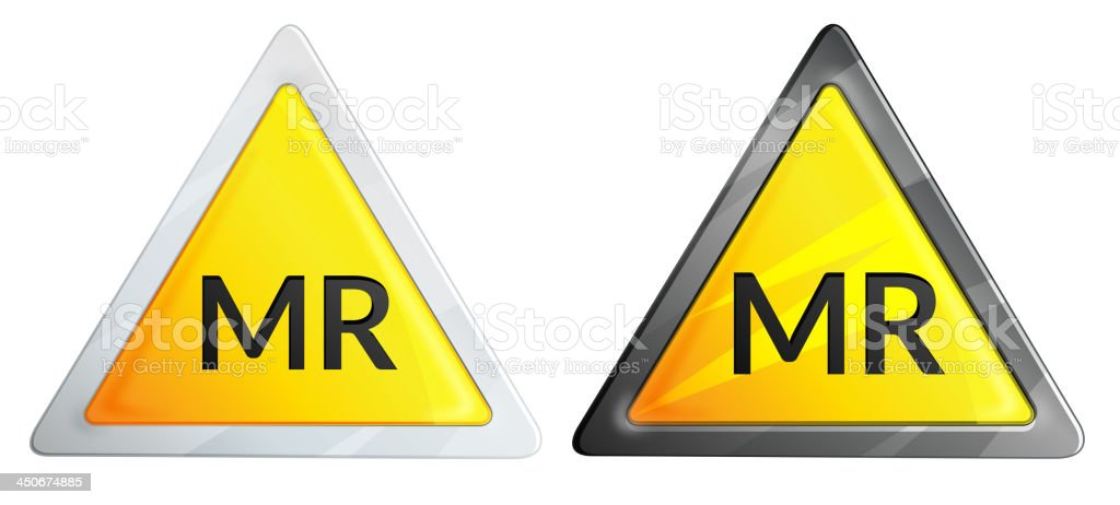 MR Conditional Sign royalty-free mr conditional sign stock vector art & more images of alertness
