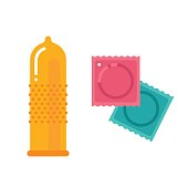 Condom and packages