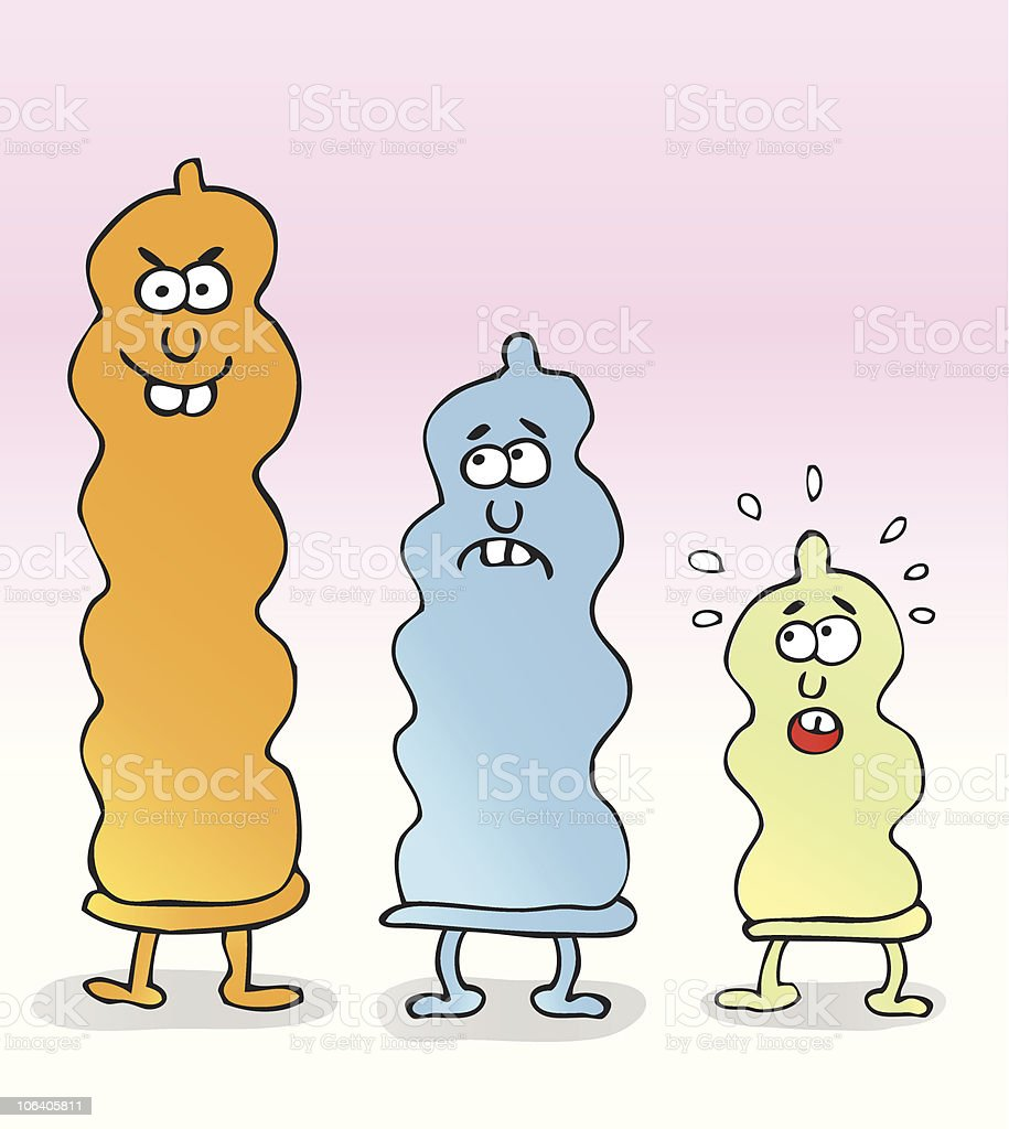 Condom Sex Cartoon Illustration Royalty Free Condom Sex Cartoon Illustration Stock Vector Art