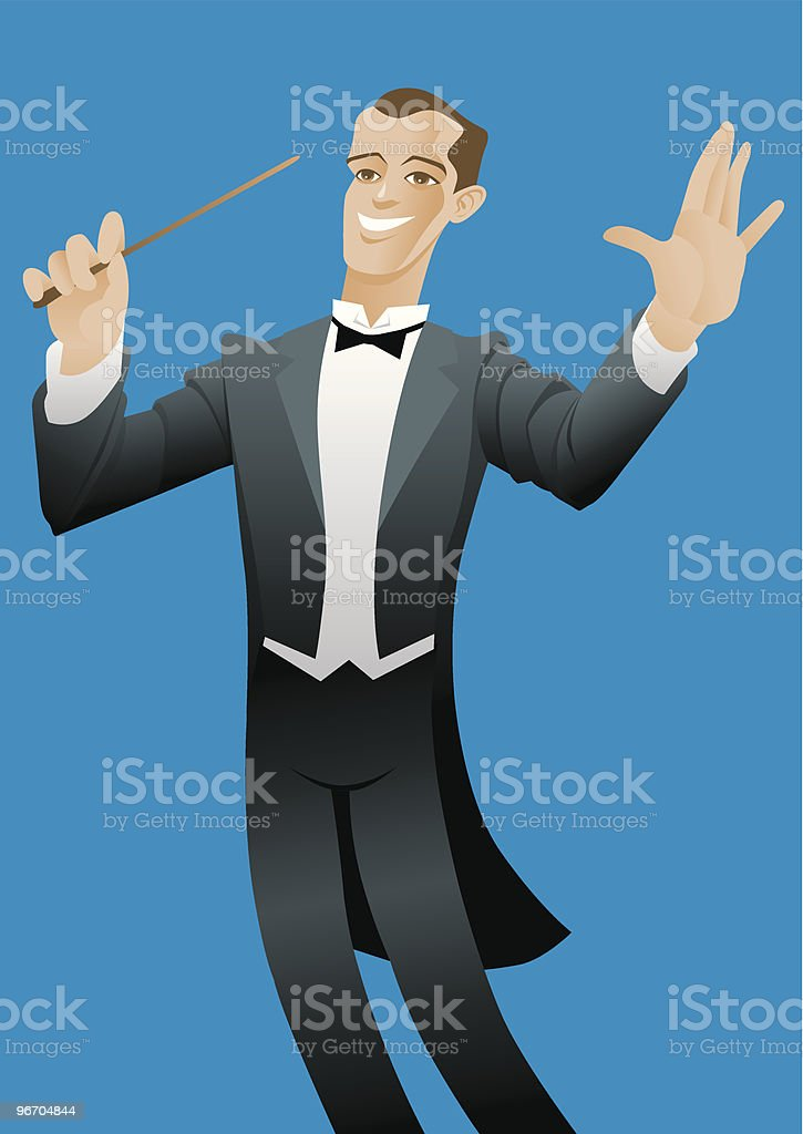 Conductor royalty-free conductor stock vector art & more images of adult