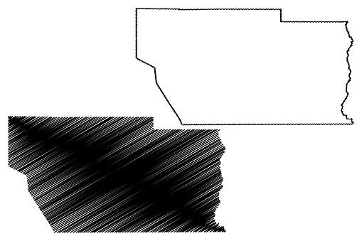 Conejos County, Colorado map