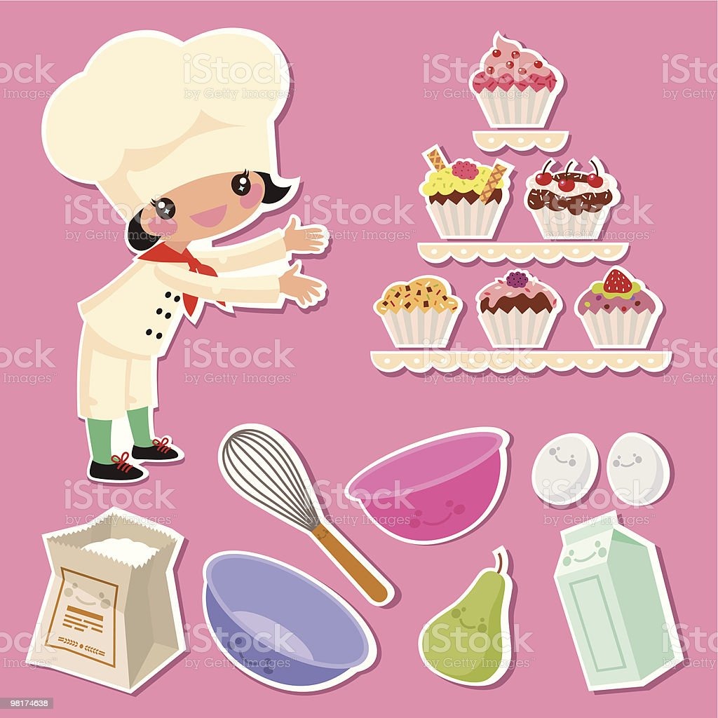 Confectioner royalty-free confectioner stock vector art & more images of baking