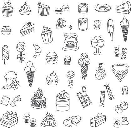 Confectionery Doodles