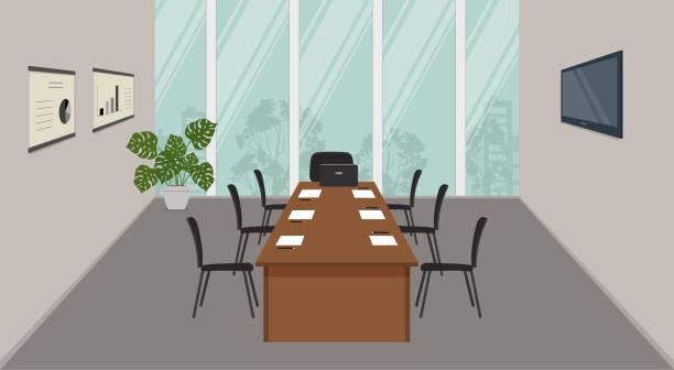 会議ホール。会議室を用意します。 - 会議室点のイラスト素材/クリップアート素材/マンガ素材/アイコン素材