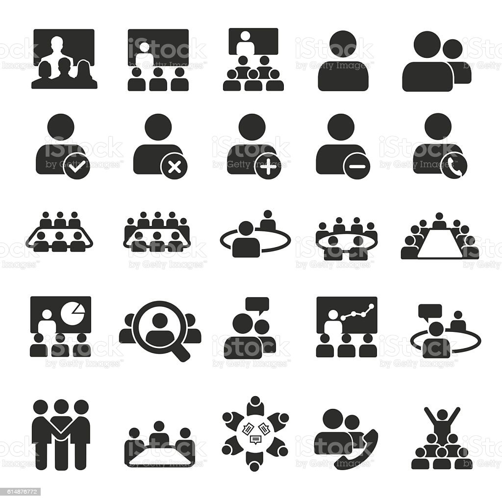 Conference icons