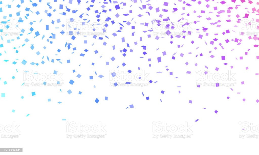 Confetti Celebration vector art illustration