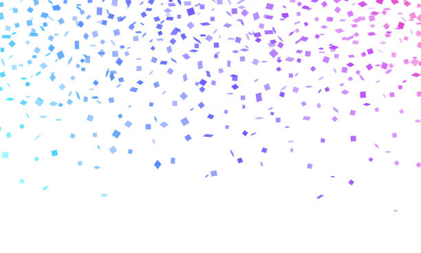 Confetti Celebration Confetti celebration horizontal background. political party stock illustrations