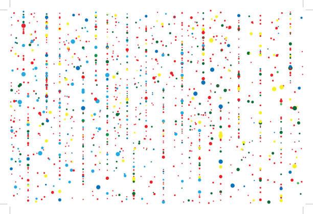 ilustraciones, imágenes clip art, dibujos animados e iconos de stock de fondo colorido confeti - birthday background