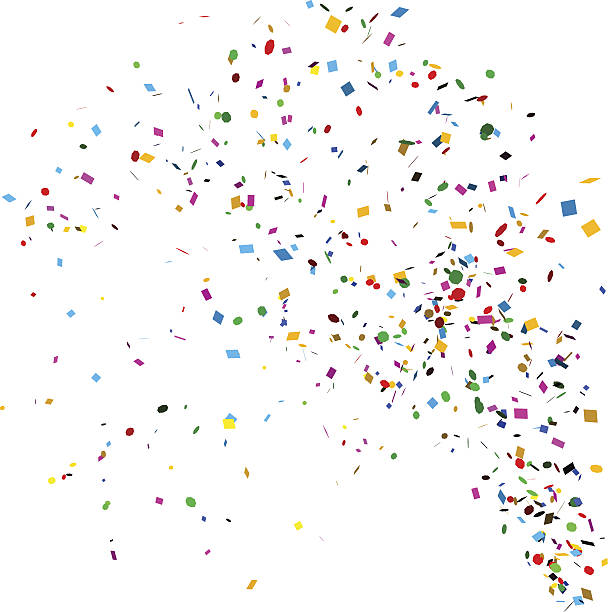 confetti - confetti stock illustrations