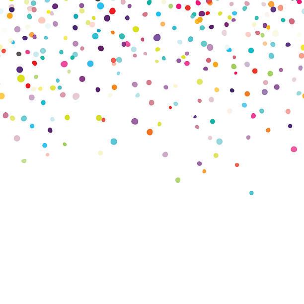 bildbanksillustrationer, clip art samt tecknat material och ikoner med confetti - blue yellow band