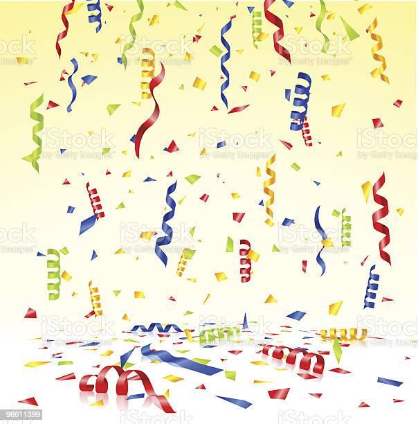 Confetti-vektorgrafik och fler bilder på Band