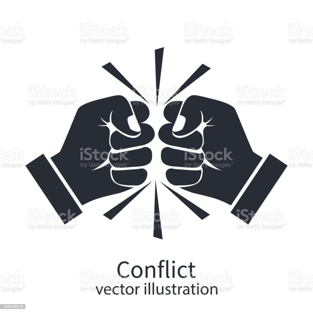 対立概念黒シルエット - でこぼこのベクターアート素材や画像を多数ご ...
