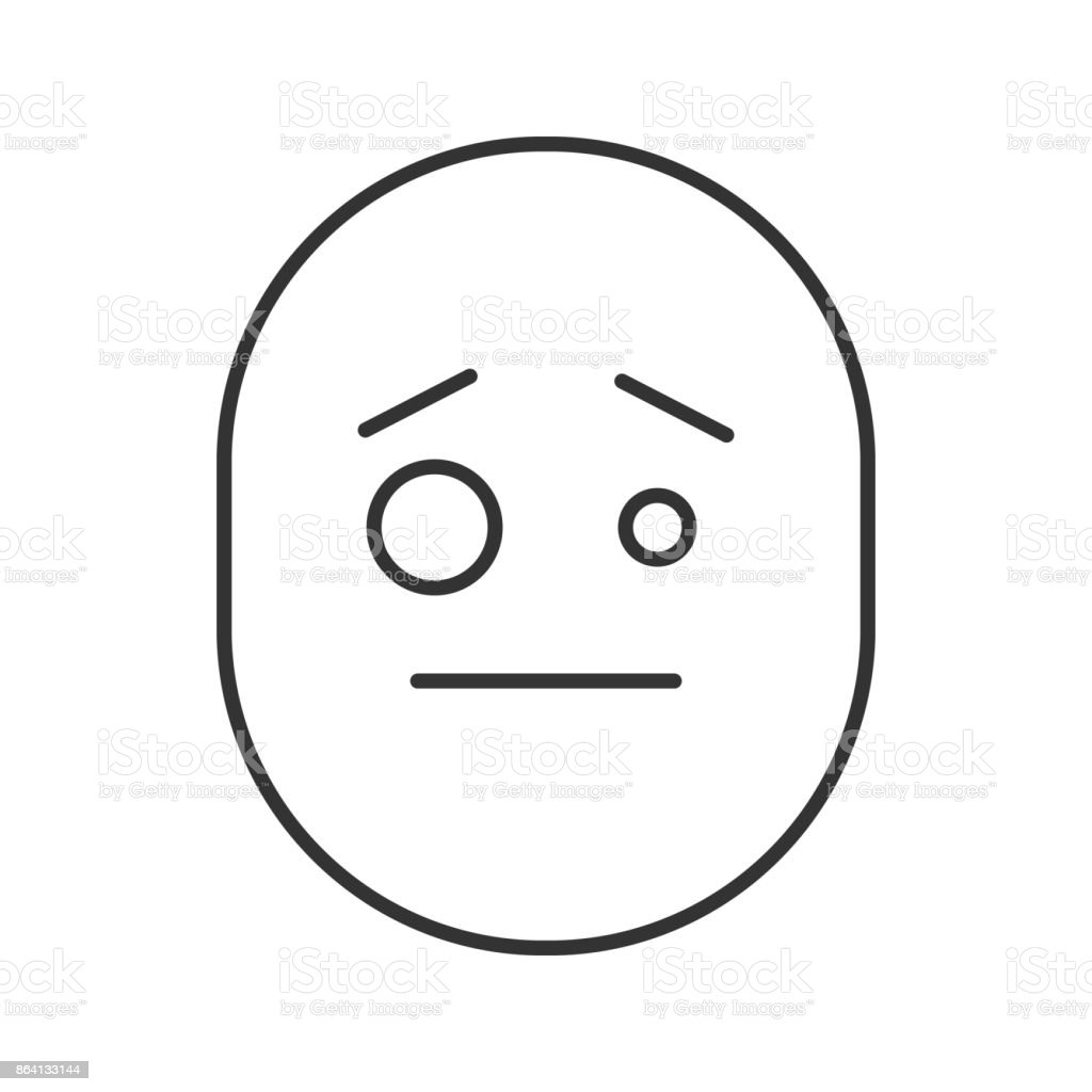 Confused smiley icon royalty-free confused smiley icon stock vector art & more images of confusion