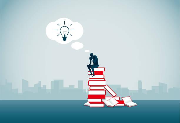 verwirrung - lesestrategien stock-grafiken, -clipart, -cartoons und -symbole