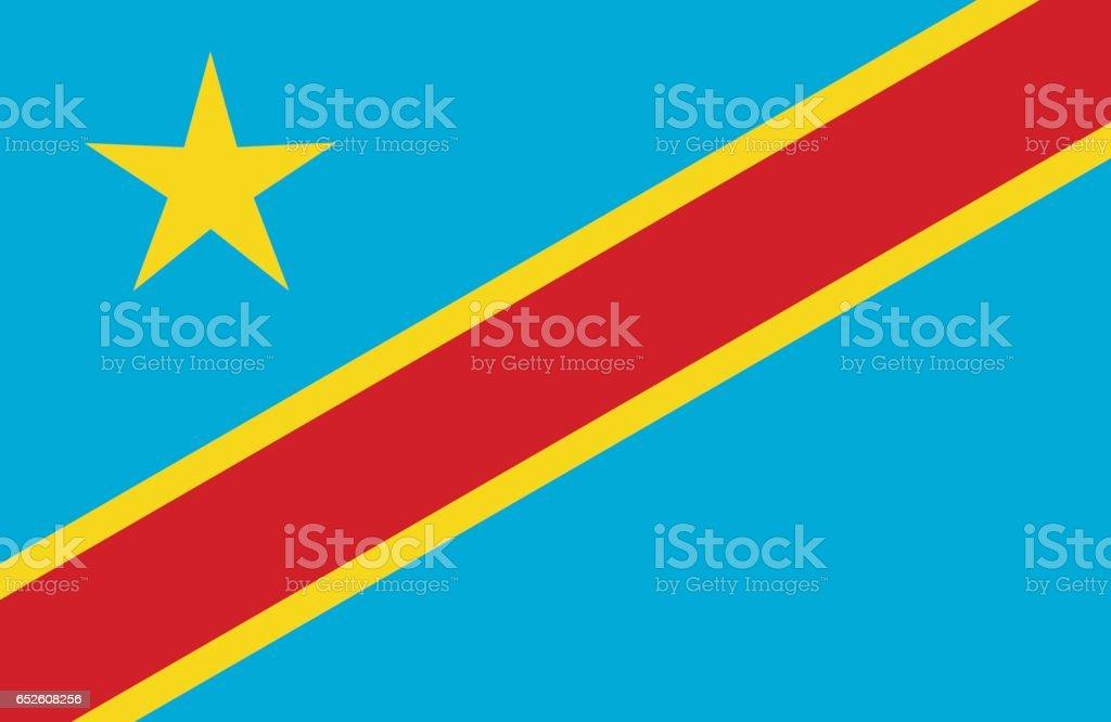 Congo vector art illustration