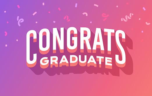 Congrats Graduate Graduation Message