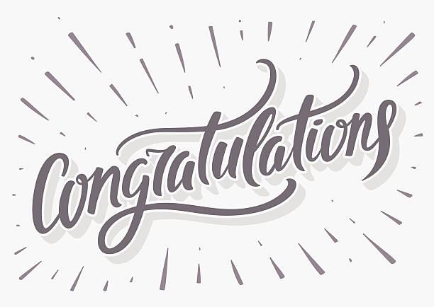 Congratulations Illustrations, Royalty-Free Vector
