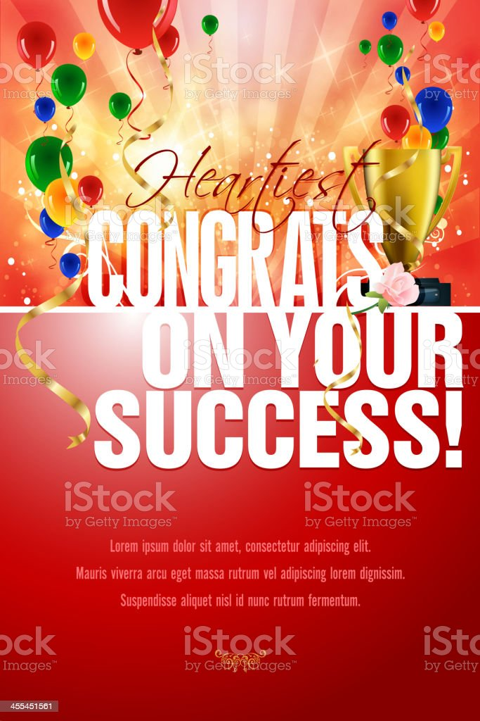 Congratulations Card royalty-free congratulations card stock vector art & more images of award