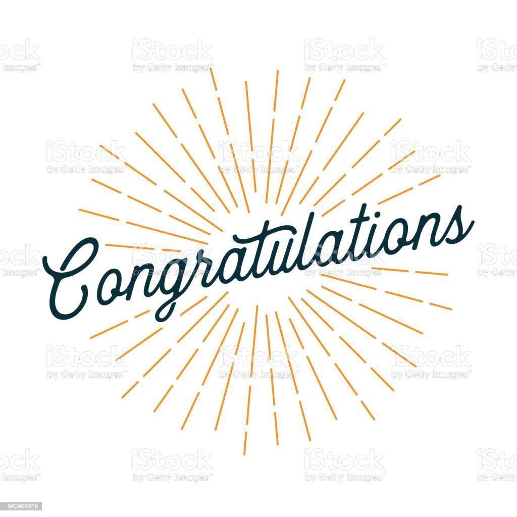 Tarjeta de felicitaciones con los rayos de luz ilustración de tarjeta de felicitaciones con los rayos de luz y más vectores libres de derechos de amarillo - color libre de derechos