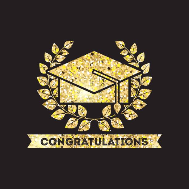 royalty free congrats grad congratulations graduate banner clip art