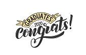 istock Congratulations Graduates 2020. 1203971911