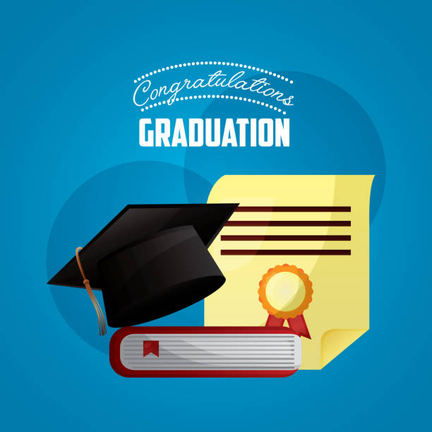 royalty free college grad invites clip art vector images