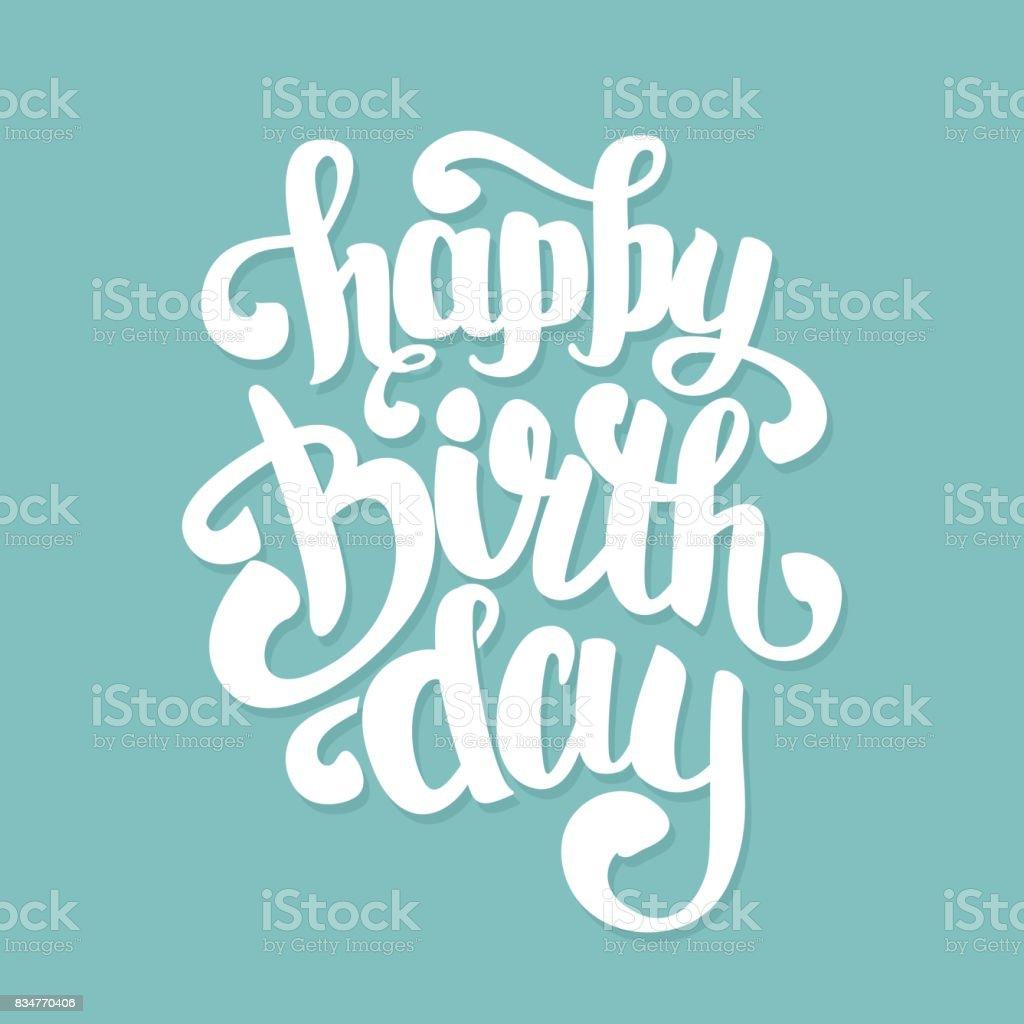 Congratulations Happy Birthday Royalty Free Stock Vector Art Amp