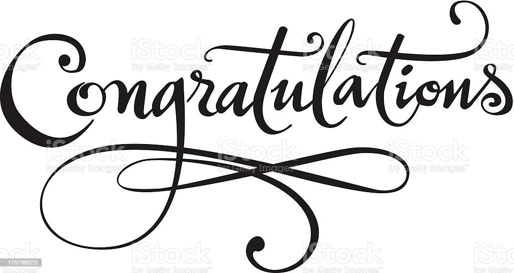 Congratulations Stock Illustration - Download Image Now ...