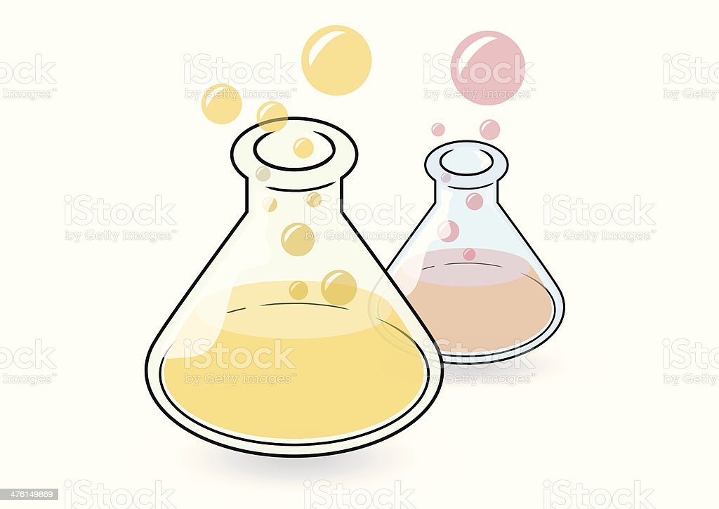 Conical Flask royalty-free stock vector art