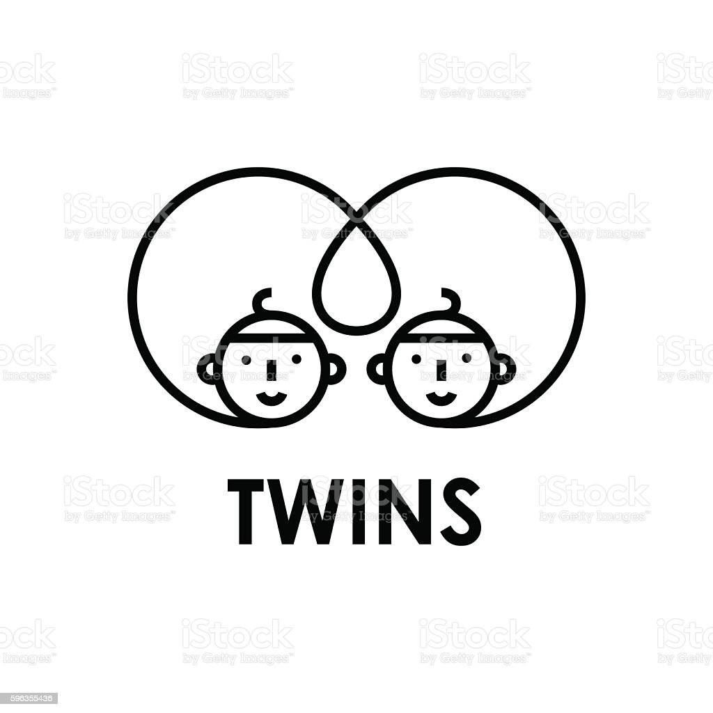 Conjoined twins vector illustration royalty-free conjoined twins vector illustration stock vector art & more images of arts culture and entertainment